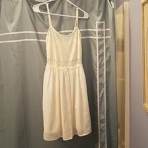 Arden B white lace dress